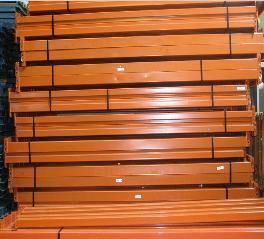 Used Pallet Racks Teardrop Keystone Ridge U Rack