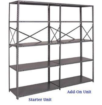 New Amp Used Commercial Shelvings Metal Shelving Wide