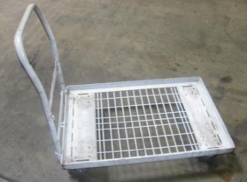 Used Platform Carts Wire Plateform Carts Warehouse Carts